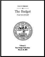 Base Budget Reductions, Fiscal Year 2003-2004