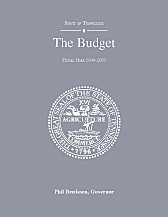 The Budget, Fiscal Year 2004-2005