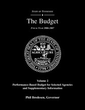 Performance-Based Budget, Fiscal Year 2006-2007