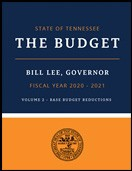 Volume 2: Base Budget Reductions, Fiscal Year 2017-2018 Cover