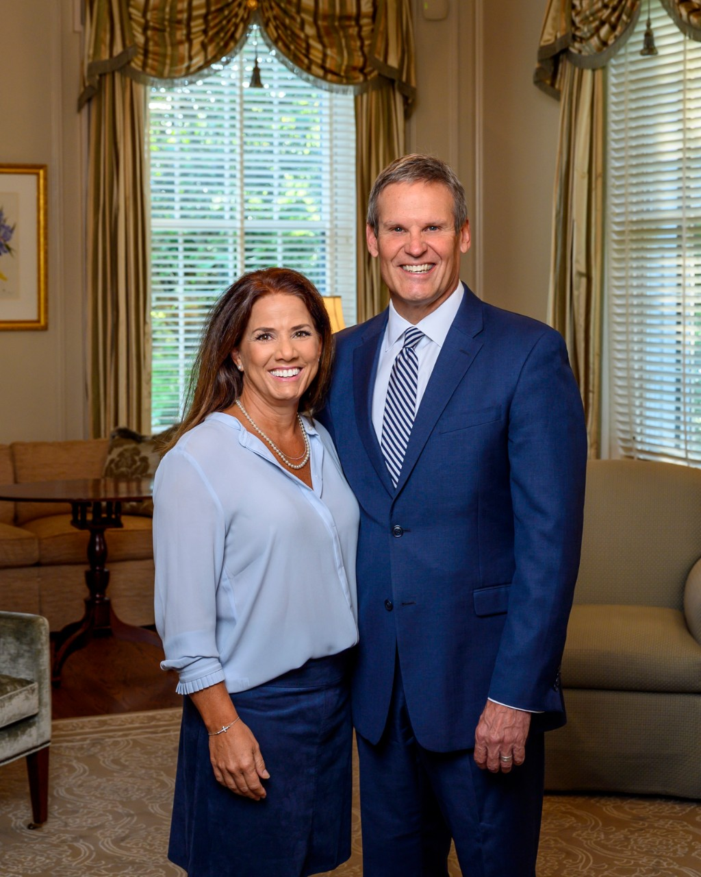 Governor Bill Lee and First Lady Maria Lee