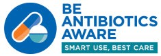 Be antibiotic use aware logo