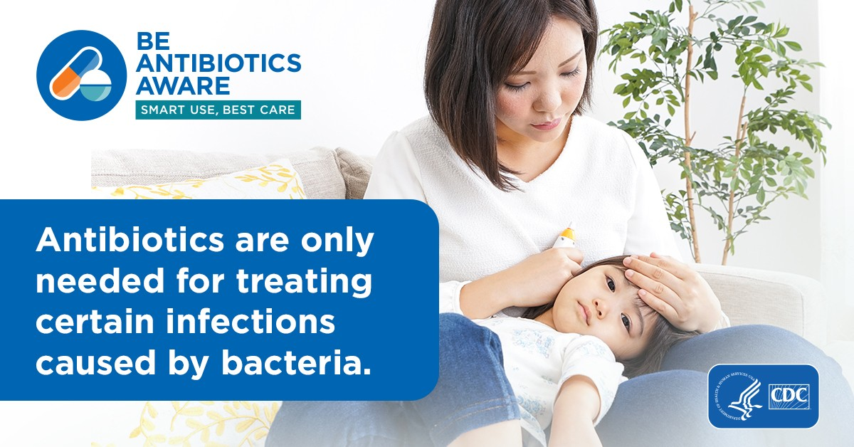 CDC's Be Antibiotics Aware Campaign
