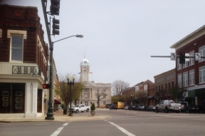 photo of downtown Columbia, Maury County