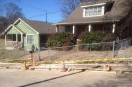 photo of new sidewalks being built in Nashville neighborhood