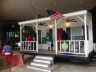 photo of Livable Memphis house exhibit