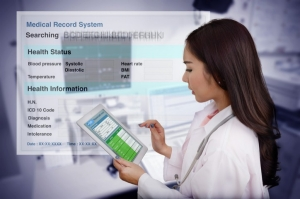 doctor reporting health information