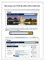 CLIA-Payments-Online