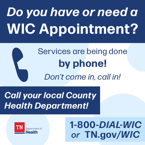 WIC Services by Phone