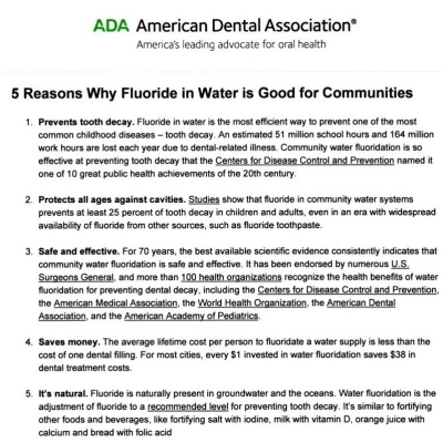 5 reasons ADA doc