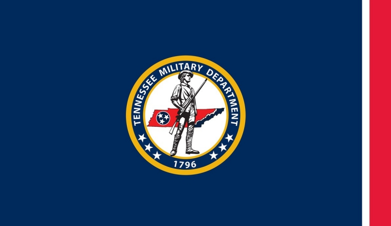 The Tennessee Military Department Flag