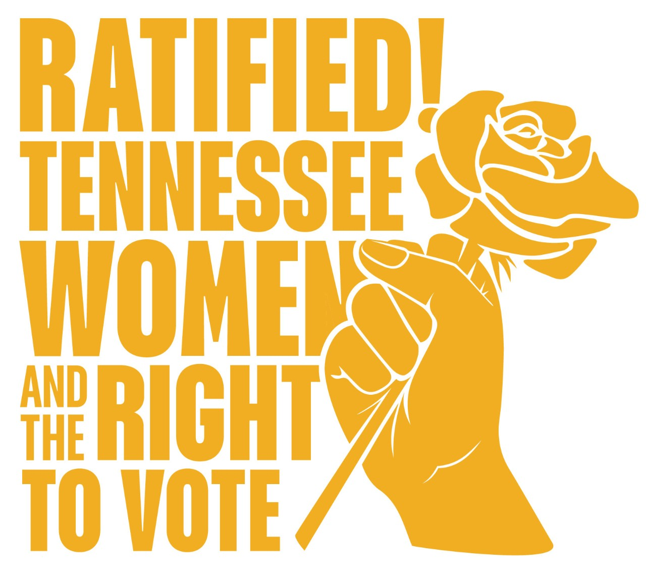 Ratified! Tennessee Women and the Right to Vote (Logo)