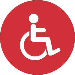 Disability Button_Red