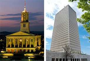 State Capitol and Tennessee Towers
