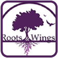 Wings and Roots Button