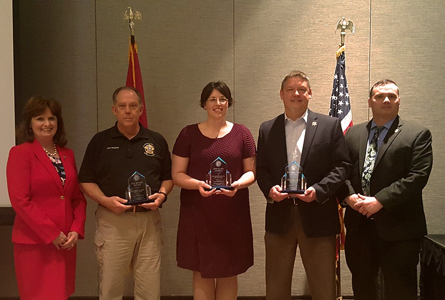 2016 Jail Administrator of the Year Recipients