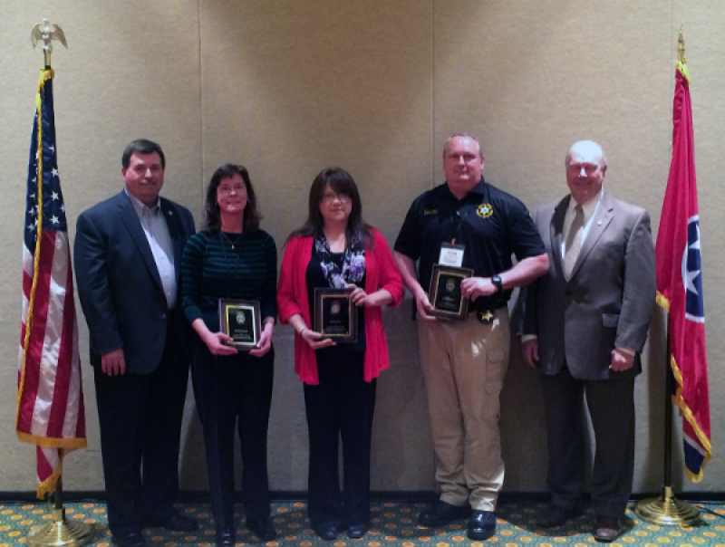 2015 Jail Administrator of the Year Recipients
