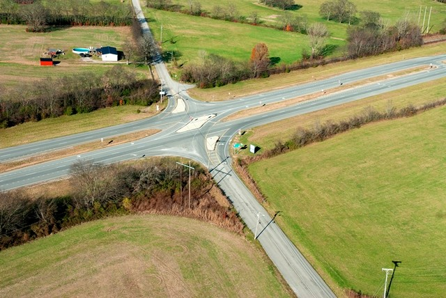 J-Turn: US 43/SR 6 at South Cross Bridges Road