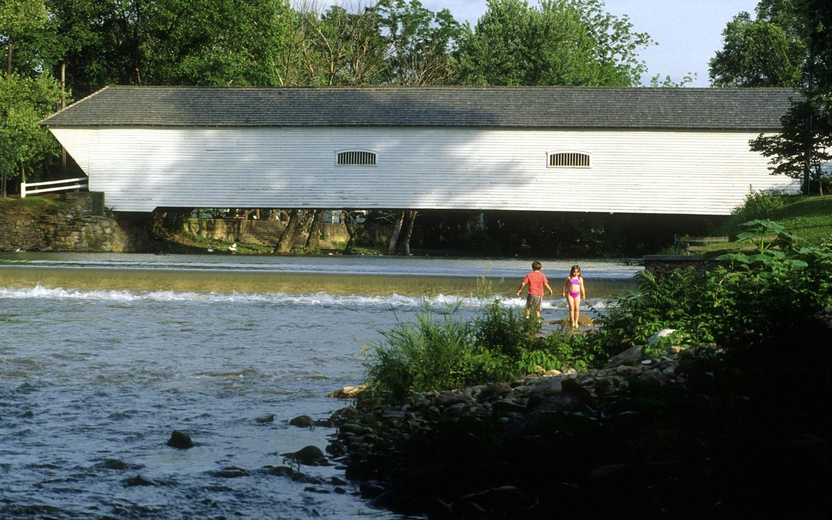 Elizabethton Covered Bridge in Carter County