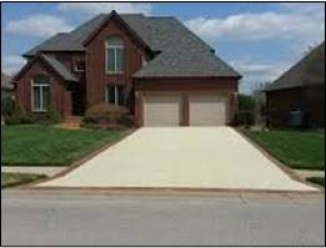 Single Family Residential Driveway