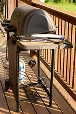 Grill. Keep grills and smokers clean and stored in secure area when not in use.