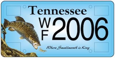 Wildlife License Plate