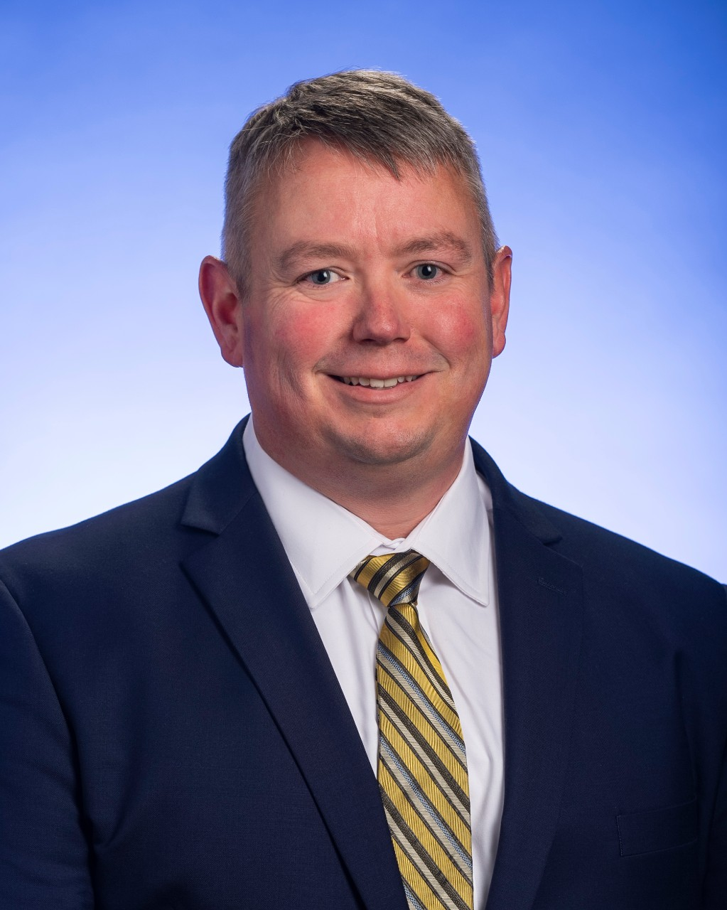 Portrait of John Gibson, Regional Director of Veterans Services in West Tennessee