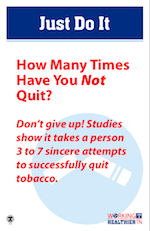 How many times have you not quit tobacco?