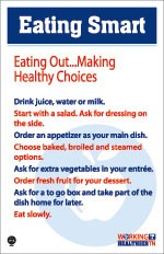 Making healthy choices while eating out