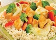 Brown Rice with Chicken and Veggies