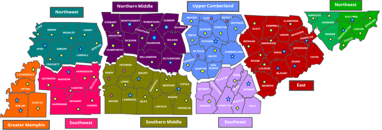 tn tennessee job center american claims local unemployment workforce regional filed numbers claim covid map labor gov jobs america east