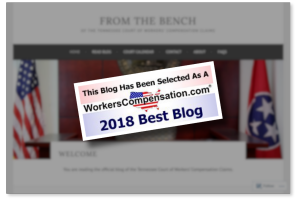 FromtheBench-17thBestWCBlog