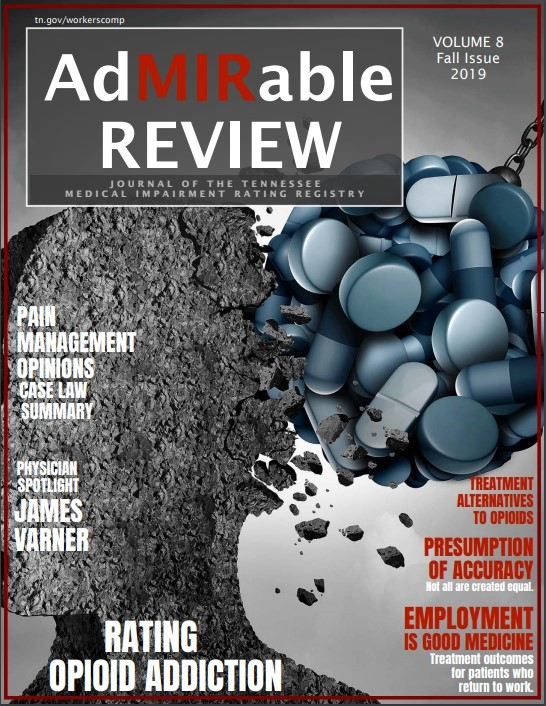 Fall 2019 Issue of the AdMIRable Review